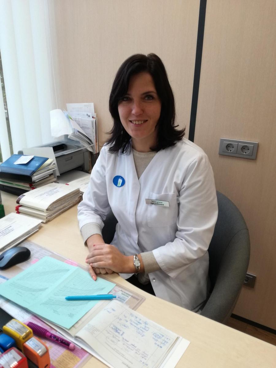 Šeimos gydytoja Eglė Jodžiūnienė